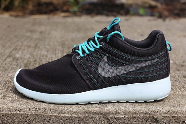 Nike Roshe Run Dynamic Flywire Qs Sport Turquoise Side 1
