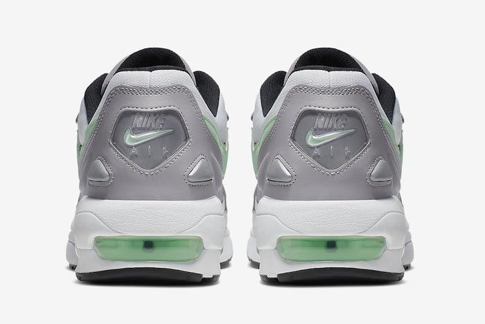 Nike Air Max2 Vast Grey Fresh Mint Heels
