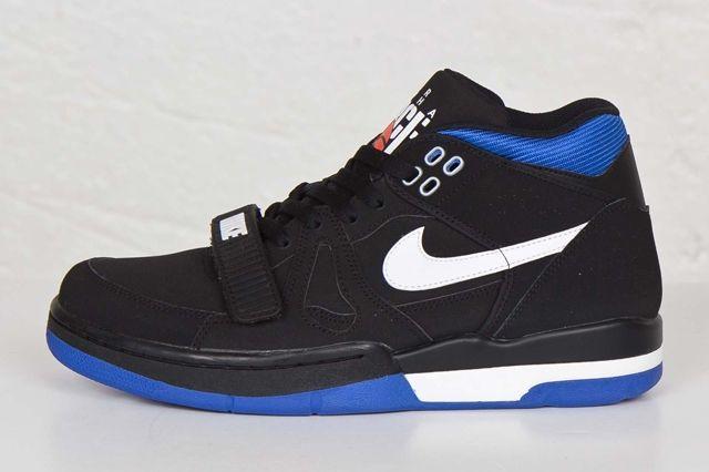 Nike Air Alpha Force Ii Black Royal Blue 4