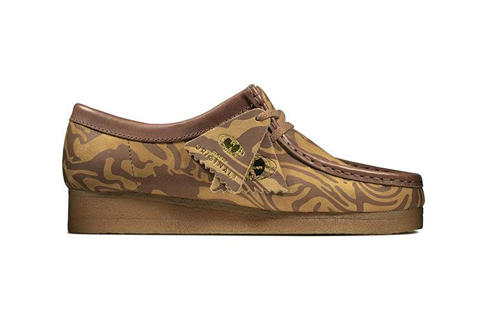 Clarks Originals Wu Tang Wallabees Brown Lateral