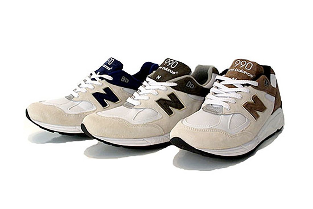 New Balance 990V2 2008 Germany Exclsuive Pack Trio