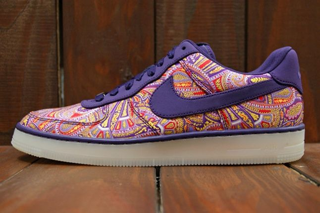 Nike Air Force 1 X Liberty Downtown Purple Profile 1