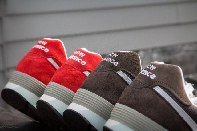 Nb Red Brown Heel