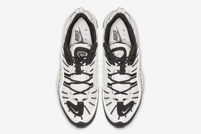 Nike Air Max 98 Sail Black Reflective Silver Top