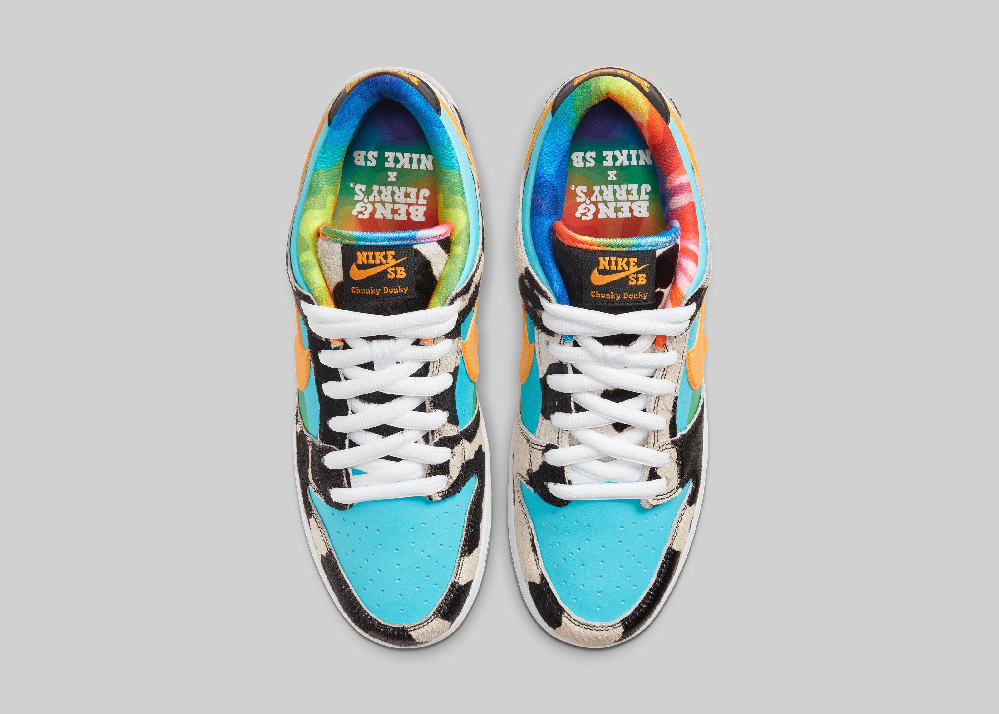 Ben & Jerry's x Nike SB Dunk Low Chunky Dunky Top