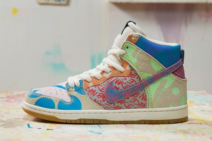 Thomas Campbell X Nike Sb Dunk High Premium What The Feature