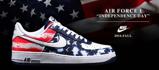 Nike Air Force 1 Independance Day