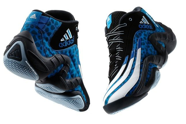 Adidas Realdeal Cheetah Blue Split Quarters 1