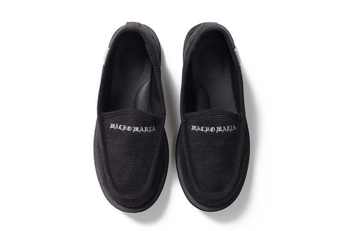 Wacko Maria Suicoke Deebo Shoes Black Top Shot