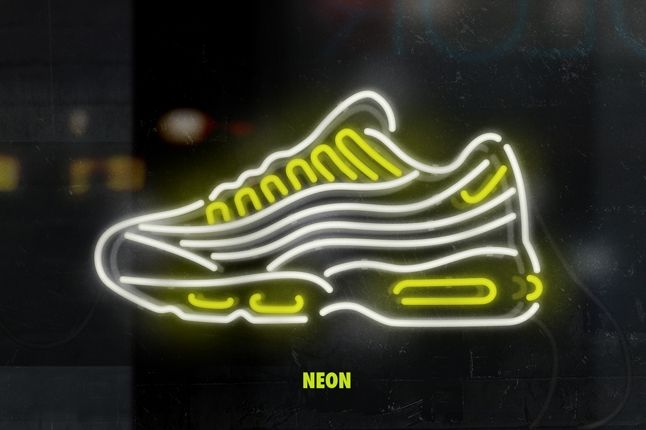 Nike Matt Stevens Airmax 95 Neon 1