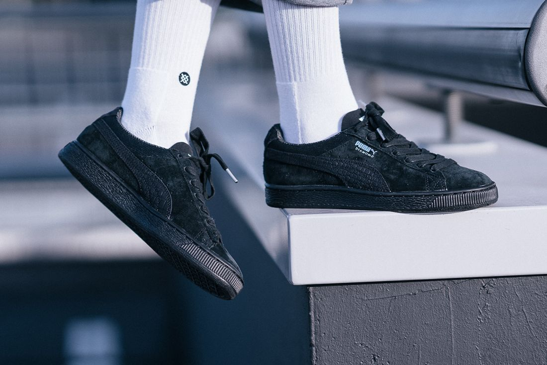 Diamond Supply Co X Puma Classic Suede Collection25