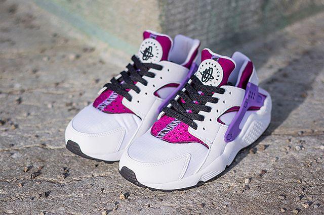 Nike Air Huarache Bright Magenta Purple 2