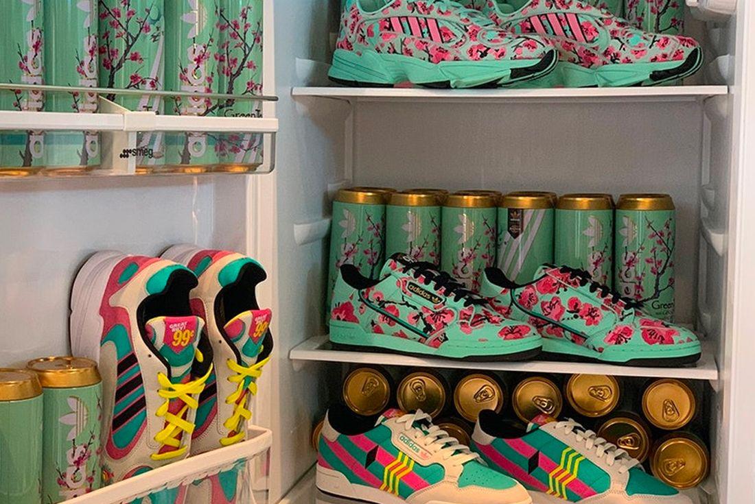 The AriZona Iced Tea x adidas Pop-Up