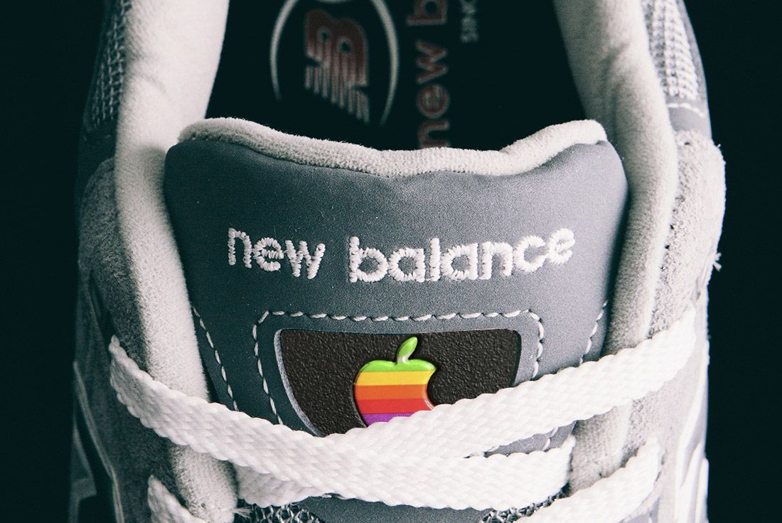 Apple New Balance 992 Tongue Sneaker Freaker