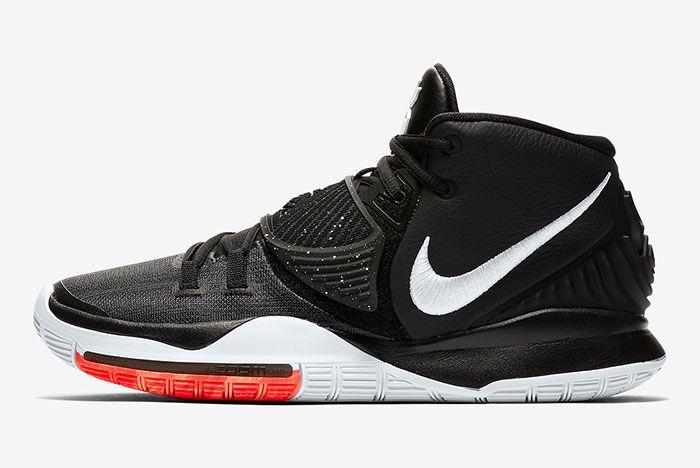 Nike Kyrie 6 Black Bq4630 001 Release Info 6 Side