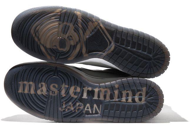Mastermind Japan Nike Dunk Hi Black Sole Detail 1