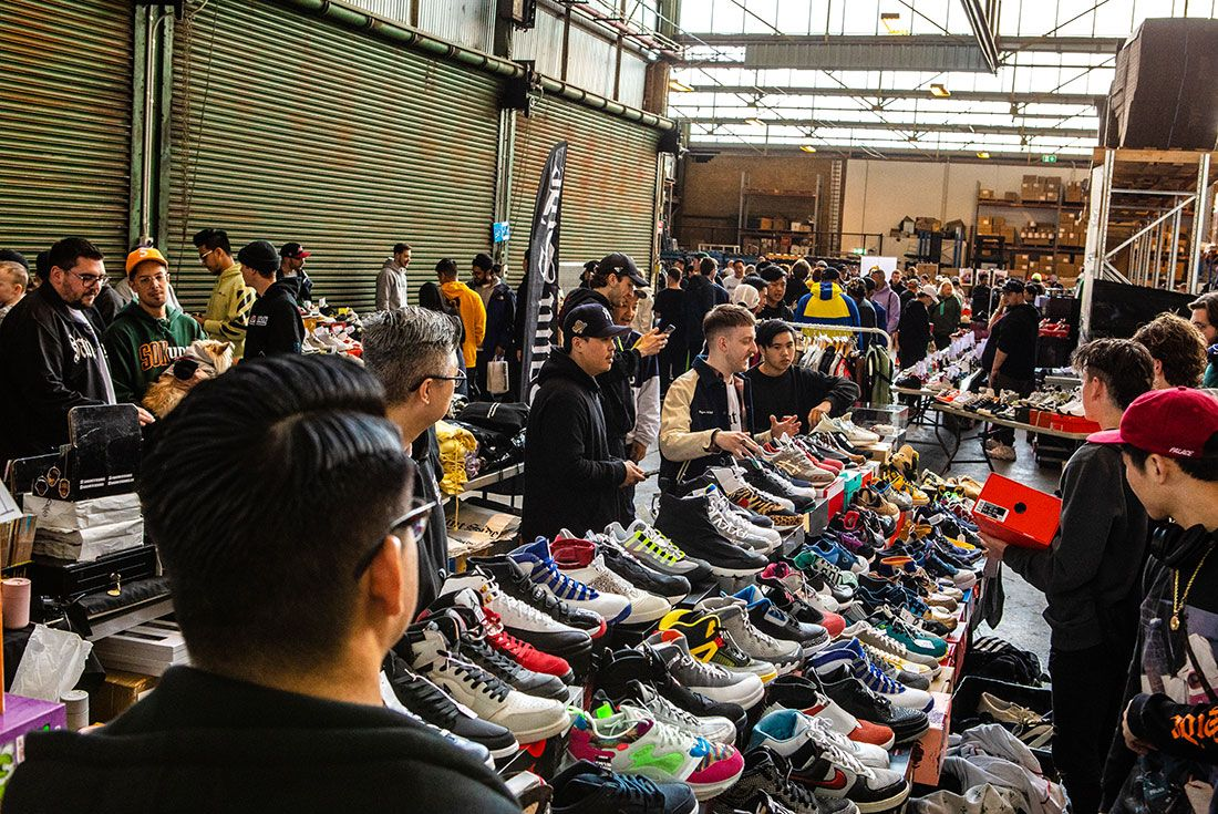 Sneaker Freaker Swap Meet October 201971
