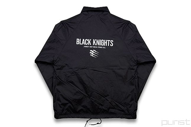 Purist Black Knight Coach Jacket 1