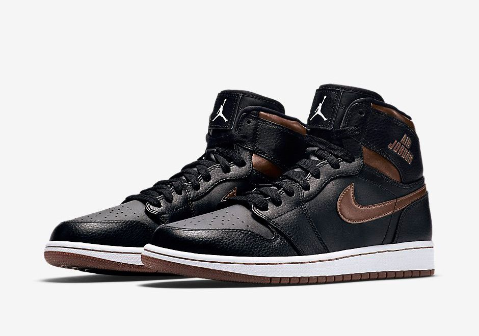 Air Jordan 1 Rare Air Black Bronze 1