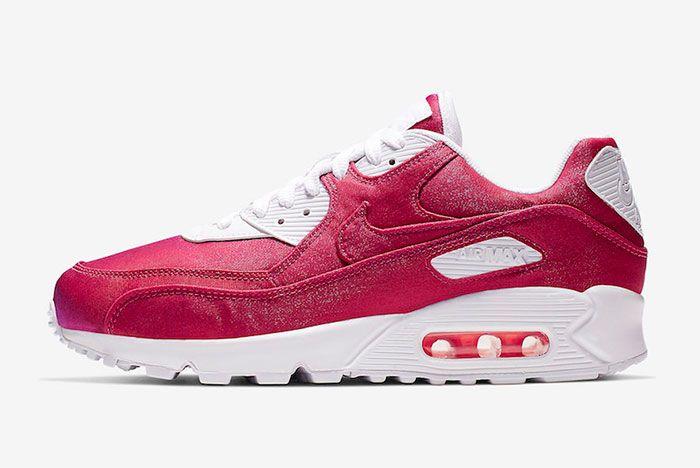 Nike Air Max 90 Hyper Crimson 881105 800 Side Shot 3