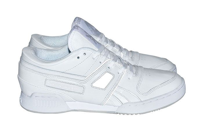 Palace Pro Workout Low White Lateral Side 3 M