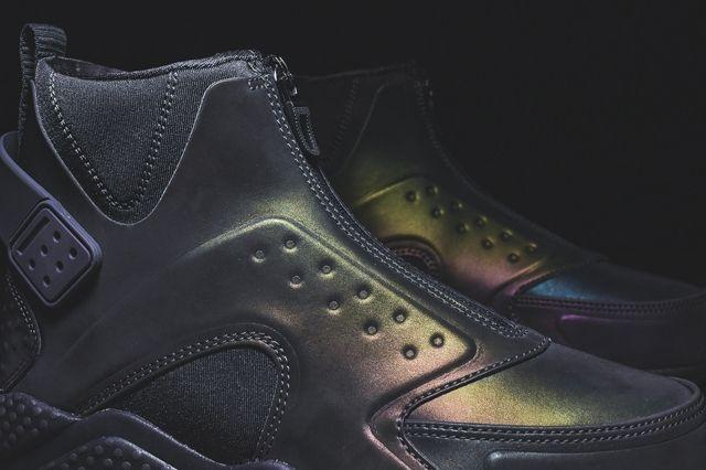 Nike Huarache Run Mid Irisdescent Kith Bump 3