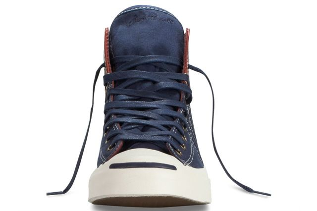 Converse Jack Purcell Duck Boot Navy Front