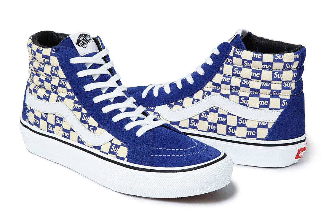 Supreme X Vans Checker Logo Pack 9