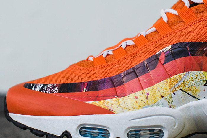 Dave White Nike Air Max 95 Dw Albion Orange 5