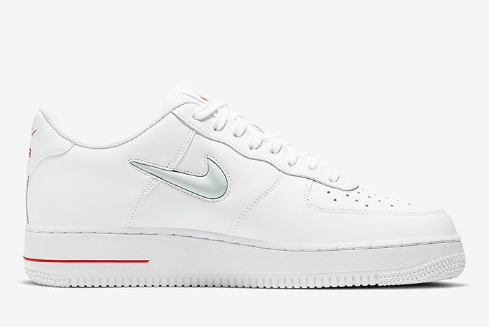 Nike Air Force 1 Low Jewel White Right