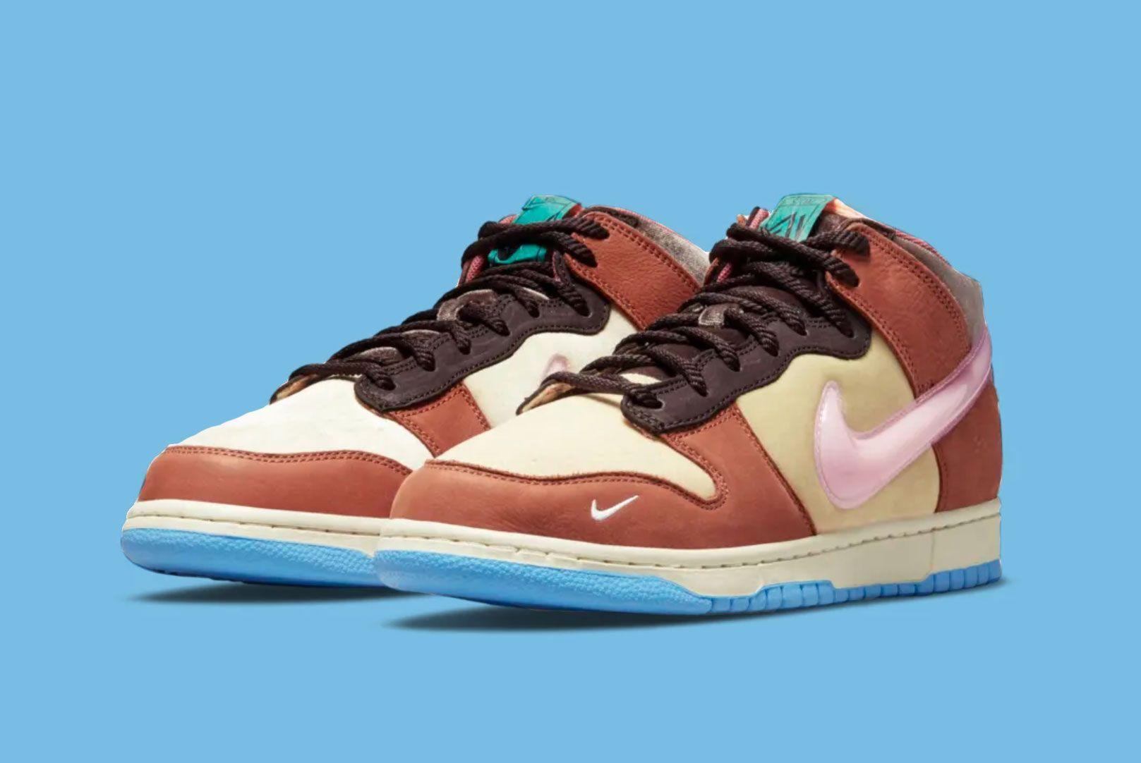 Social Status x Nike Dunk 'Chocolate Milk'