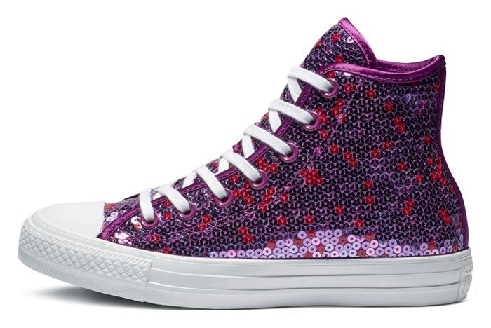 Converse Chuck Taylor All Star Sequin Violet 1