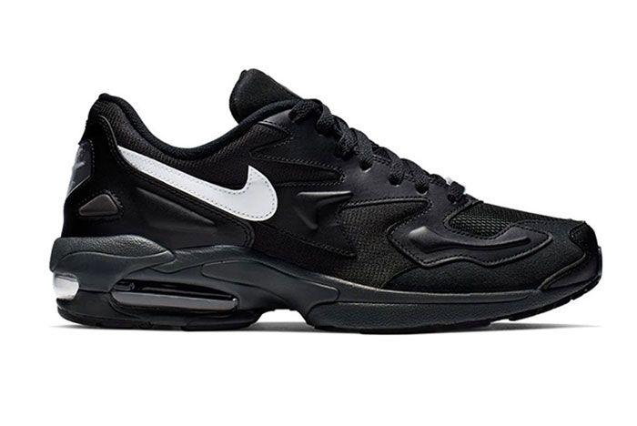 Nike Air Max 2 Light Black Ao1741 001 Side Shot 4