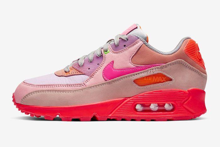 Nike Air Max 90 Pink Left