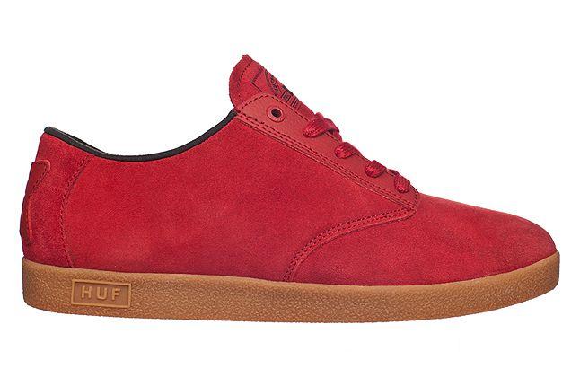 Huf Fall 2012 Footwear Hufnagel Pro Crimson Gum 1