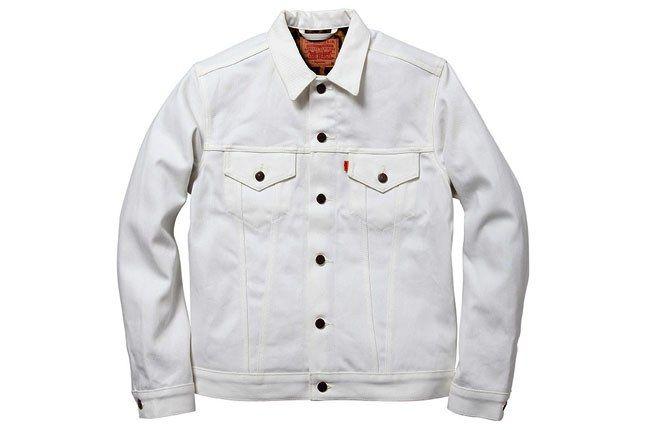 Supreme Levis White Denim Jacket 1