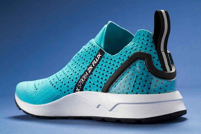 Adidas Zx Flux Racer Asym Primeknit Blue Glow