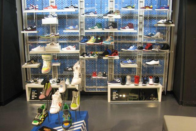 Adidas Store New York City