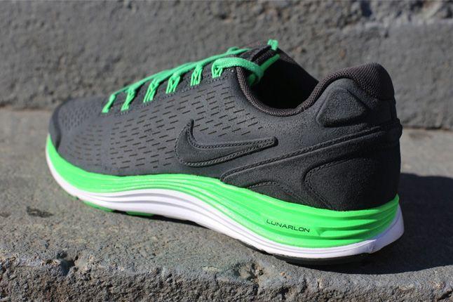 Nike Lunarglide 4 Ext Poison Green Quater Heel 1