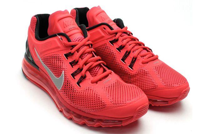 Nike Air Max 2013 Red Pair 1