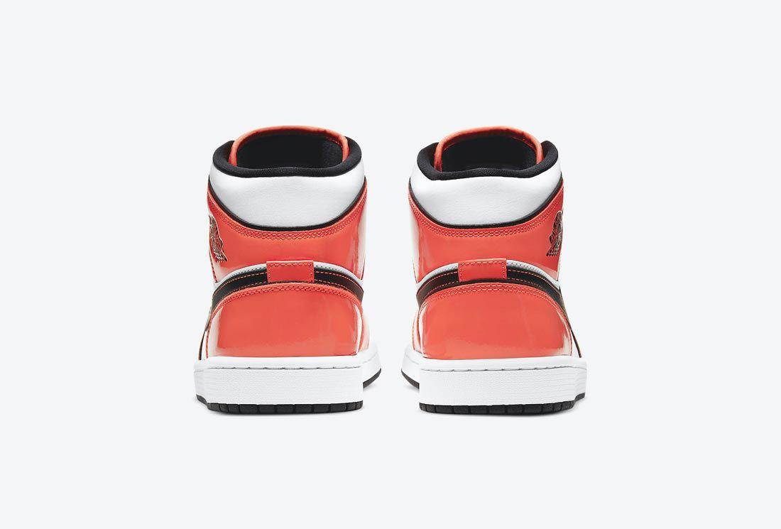 Air Jordan 1 Mid 'Turf Orange'