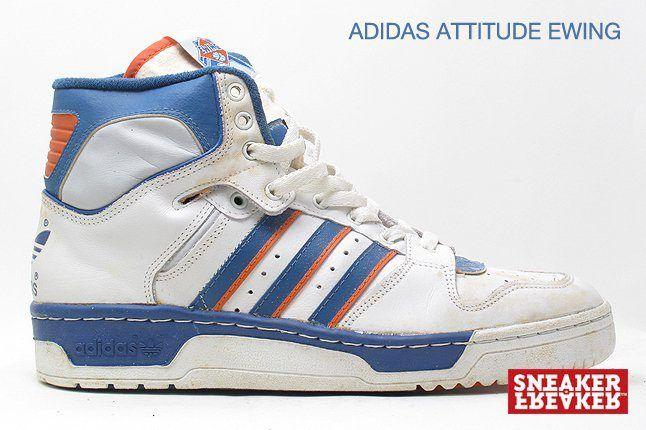 Adidas Attitude Ewing White Orange Blue 1