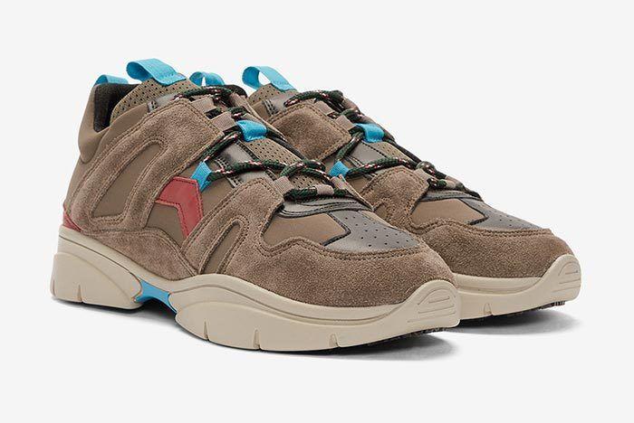 Isabel Marant Kindka Mountain Sneaker Grey 3