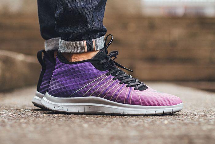 Nike Free Hypervenom Fc Purple Gradient