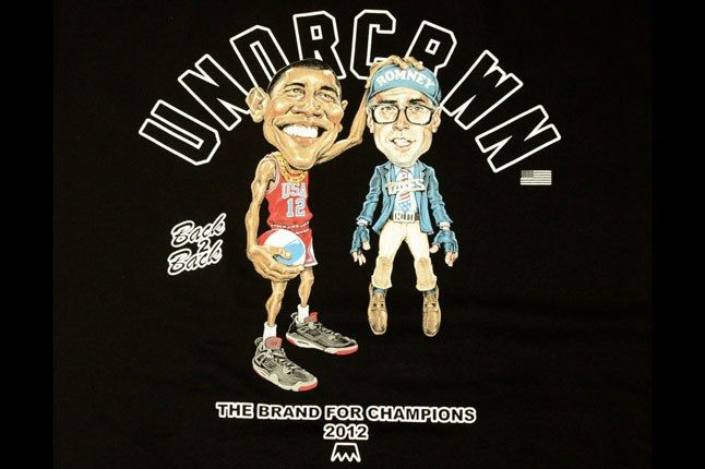 Barack Obama Basketball Tee 1