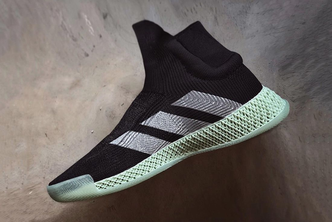Adidas Futurecraft 4 D Laceless Basketball Sneaker