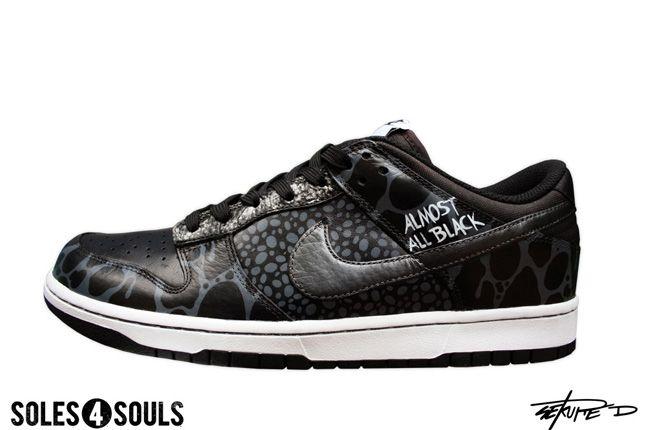 Sekure D Nike Almost All Black 1