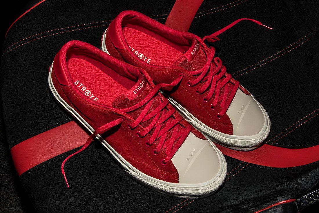 Ben Baller Red Suede Sneaker Freaker11