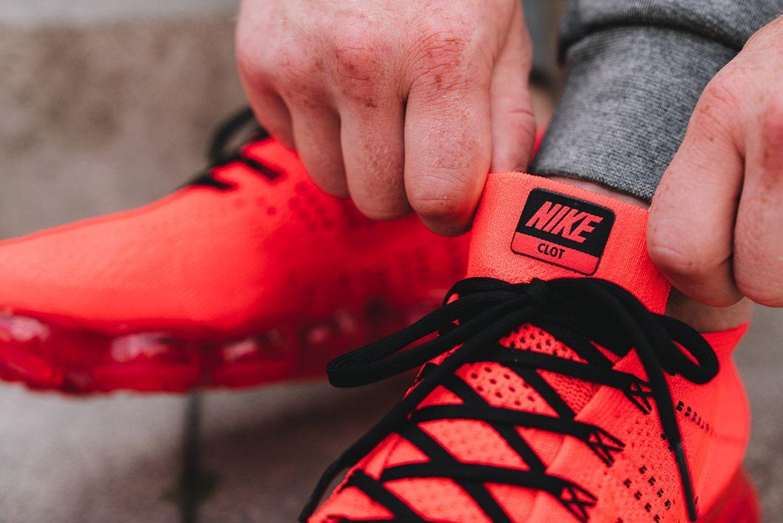 Nike Air Vapormax Clot Red 4