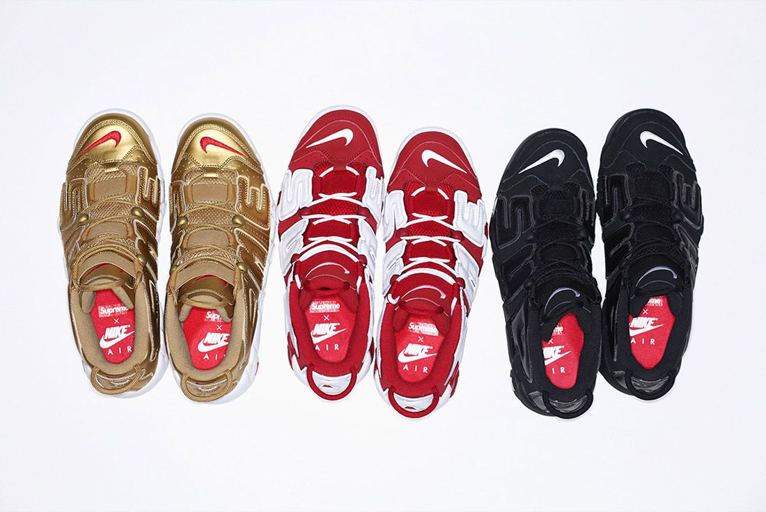 Supreme Nike Air More Uptempo Pack 1